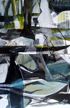 Peinture acrylique 40X50 cm
