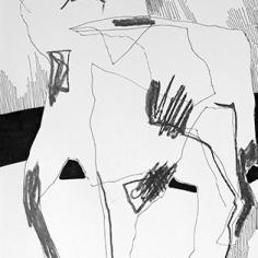 A4 / Feutre+Graphite